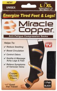 copper socks review