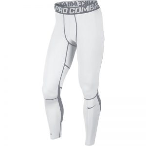 white nike hypercool tights