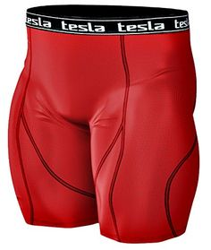 tesla compression shorts