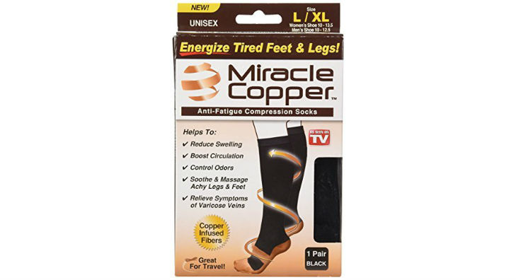 Miracle Copper Anti-Fatigue Compression Socks Review
