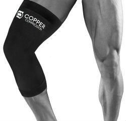 Copper Compression Recovery Knee Sleeve