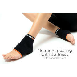 Copper FX Compression Ankle Sleeve